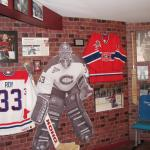 Patrick Roy, Ken Dryden, Montreal Canadiens Display.
