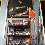 2007 Anaheim Ducks Stanley Cup Champions stick and jersey