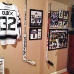 LA Kings Patrik Bartosak and Colin Fraser Game-Used Hockey Sticks