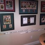 500 Goal Scorer Club - Mike Bossy #22 NY Islanders and Adam Graves #9 NY Rangers game used stick