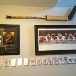 Gerry Cheevers Old Time Hockey Stick Boston Bruins Collection