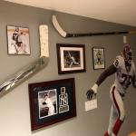 (updated picture) Jack Eichel and Ryan Miller sticks
