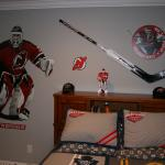 Martin Brodeur signed goalie stick