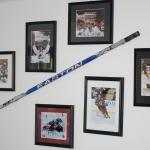 Game-Used Colorado Avalanche's Chris Stewart stick