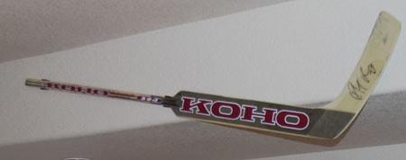 Hang Display Game Used Goalie Hockey Stick Holder Mount Ebay