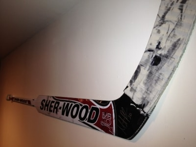Martin Brodeur Game Used Goalie Stick