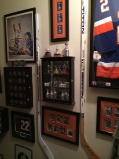 New York Islanders Mike Bossy Man Quot Stairway Quot Cave