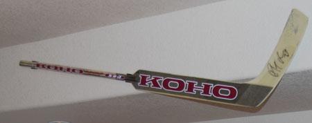 Goalie Hockey Stick Display Wall Mount Hanger For Game